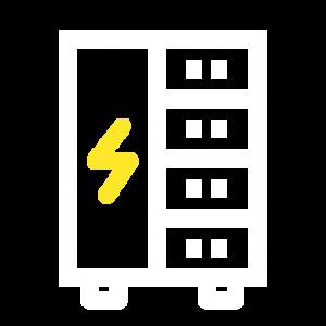 Ikon för installation av apparatskåp