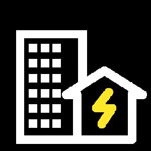 Ikon för elinstallationer – entreprenad