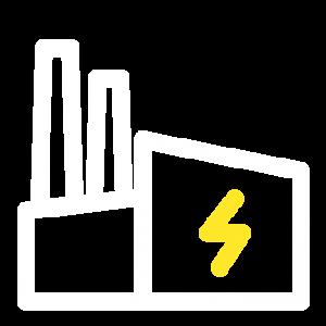 Ikon för elinstallationer i industri